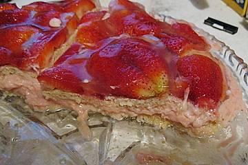Erdbeer - Joghurt - Torte