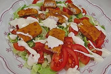 Fischstäbchen Salat alla Marc