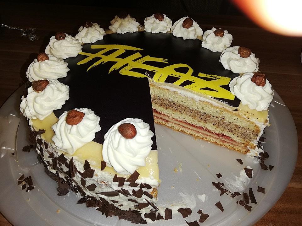 walnuss marzipan torte