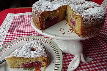Himbeer - Joghurt - Geburtstagskuchen