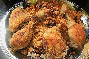 Arabisches Reisgericht Kabse