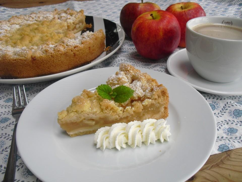 Apfelkuchen Mit Apfelmus Rezepte Chefkoch De