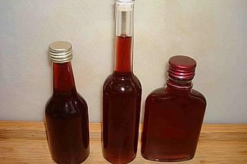 Roter Weinbergpfirsich - Likör