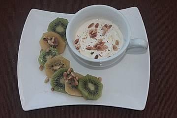 Kiwi in Honig - Joghurt
