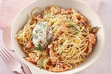 15 - Minuten - Lachs - Spaghetti