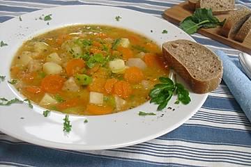 Leckere Gemüsesuppe nach Art von Opa Alois