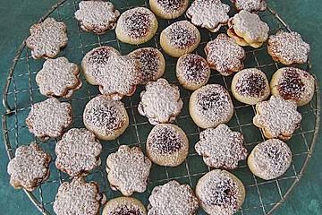 Kartoffelmürbteighörnchen (süß)
