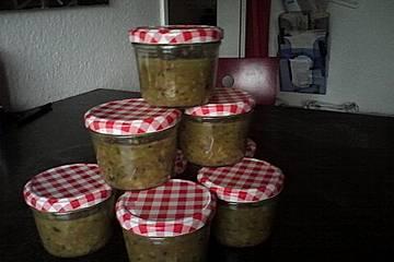 Stachelbeer - Zucchini - Fruchtaufstrich