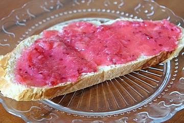 Rote Johannisbeeren - Bananen - Marmelade