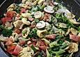 Vegetarische-Tortellini-Pfanne