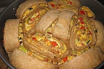 Gemüse - Ziegenkäse - Schnecken