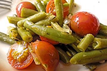 Bohnengemüse mit Tomate