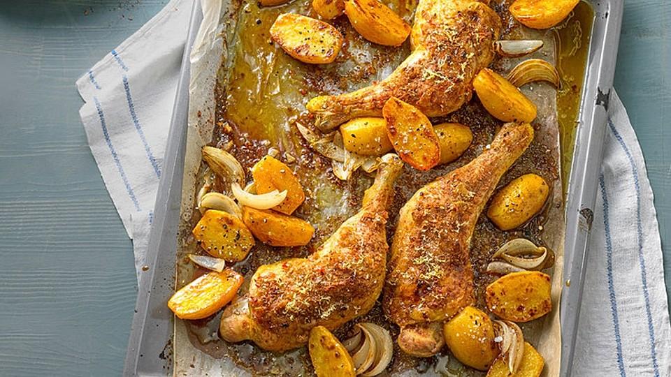 Wie man auf Hühnerschenkeln Gewicht verliert