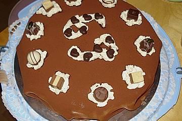 Mokka - Haselnuss - Torte