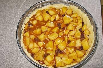 Apfel schmand blechkuchen