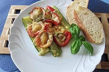 Zucchini - Tomaten - Gratin
