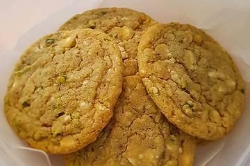 Pistazien - Limetten Cookies