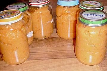 Baby - Gemüsebrei mit Möhren, Zucchini und Kartoffeln
