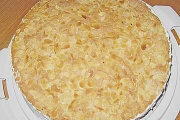 Apfel - Wein - Torte mit Mandelböden