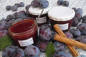 Pflaumen-Zimt-Marmelade