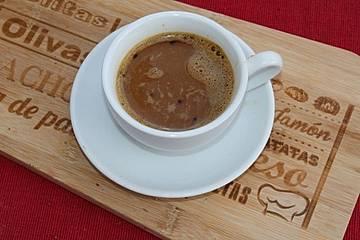 Caffè all'uovo - Kaffee mit Eigelb
