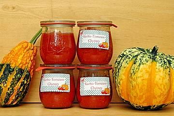 Kürbis - Tomaten - Chutney von Rosinenkind