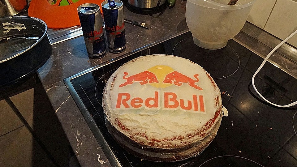 Wodka Red Bull Torte