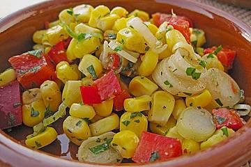 Mais - Paprika - Salat