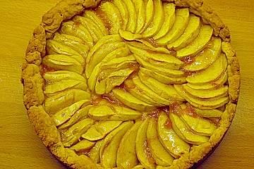 Apfelkuchen, französische Art