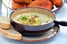 Porree-Käsesuppe mit Hack von rogalla | Chefkoch