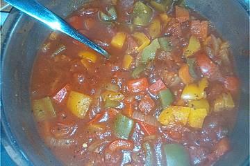 Gemüsebolognese im Quick Chef