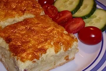 Zwiebelkuchen aus der Normandie