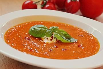 Tomaten - Kräutersuppe