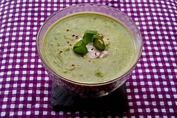 Erbsen-Ingwer-Suppe