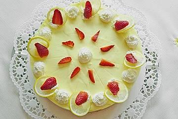Erdbeer - Zitronen - Torte