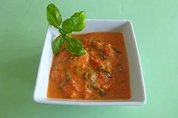 Hähnchen in Tomatensoße