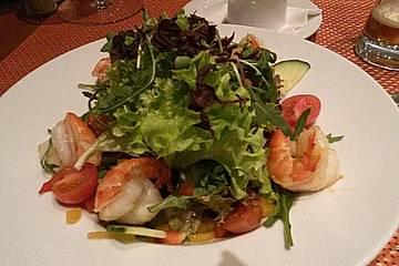 Fitness - Salat mit Garnelen