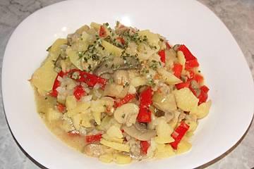 Kleiner Kartoffelsalat