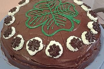 Irischer Schoko - Schock - Kuchen mit Guiness
