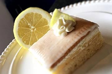 Zitronen - Butterkeks - Schnitten