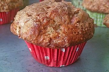 Rhabarber - Muffins