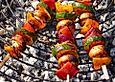 Schaschlik-vegetarisch