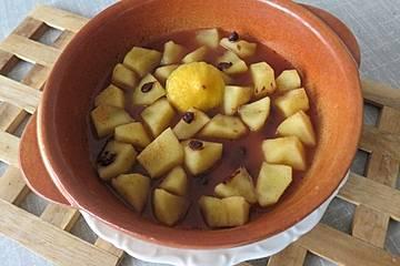 Apfel - Zimt - Schoko - Dessert