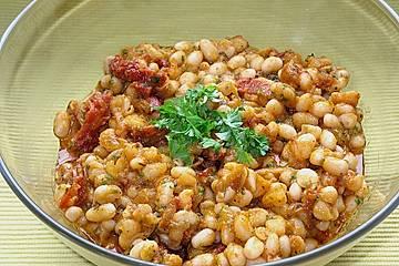 Toskanischer Bohnensalat
