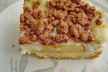 Brisanes Apfel - Kokos - Kuchen