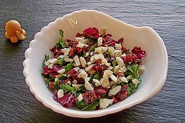 Radicchio - Salat mit Gorgonzola