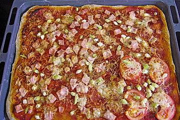 Vollkorn - Pizza