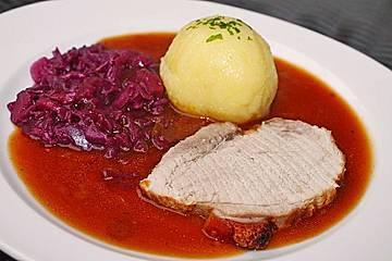 Senf - Krustenbraten