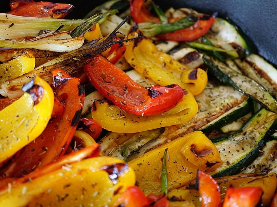 Gegrilltes Gemüse Von Mama0007 Chefkoch