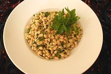 Orientalischer Bohnensalat